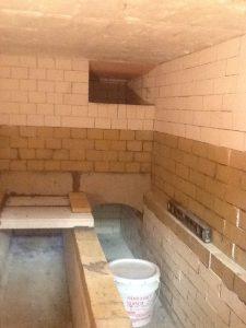 Inside of Crematory Chamber
