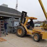 Installing Crematory Chamber