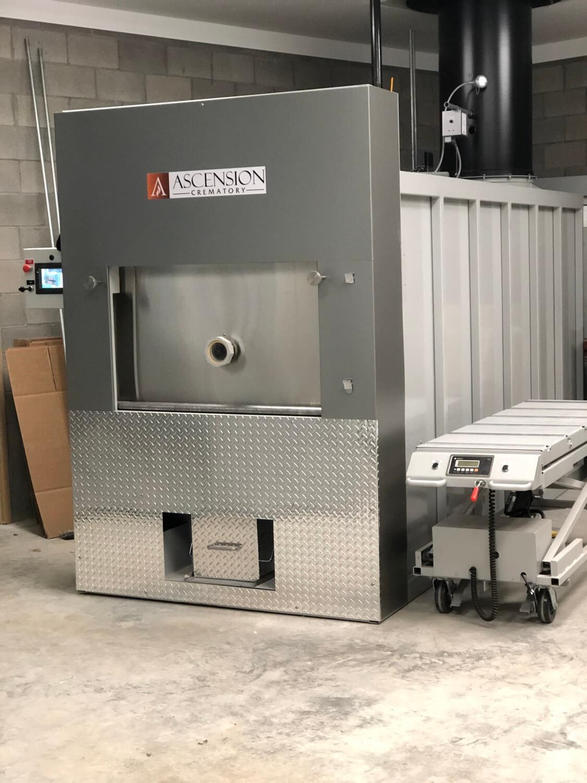 CFS 2300 cremation chamber